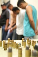... inerente... (EL Gabriel Gonalves) Tags: brazil gabriel brasil out gun shoot weapon jail bullet revolver arma precint balas gonalves presos apreenso tiroteio delegacia