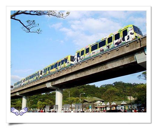 090627台北市立動物園10_捷運木柵線的團團圓圓號列車