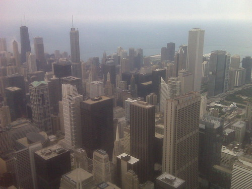 Chicago Skyline View from Willis Tower