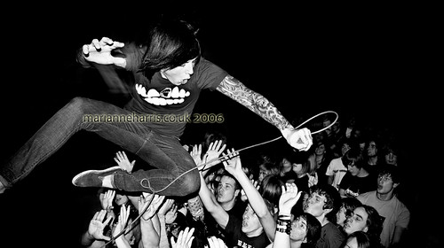 Oli Sykes, Bring Me The Horizon 2006 - edited *explored*