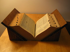 Stand v2 with large book