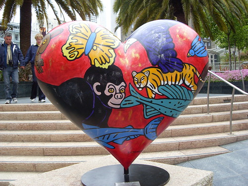 Heart in San Francisco Art