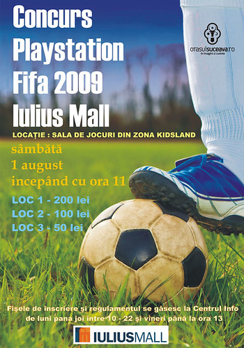 1 August 2009 » Concurs Playstation FIFA 2009