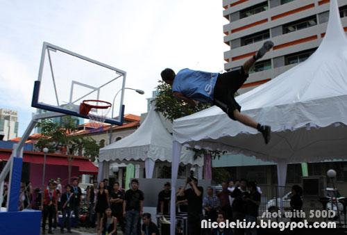 rocket dunk