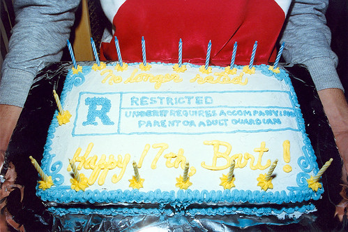 Rated R Cake