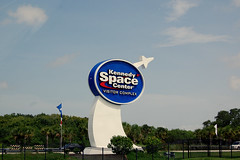 Skilt: Kennedy Space Center Visitor Complex