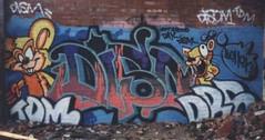 dism56 (Metroburner) Tags: newcastle graffiti