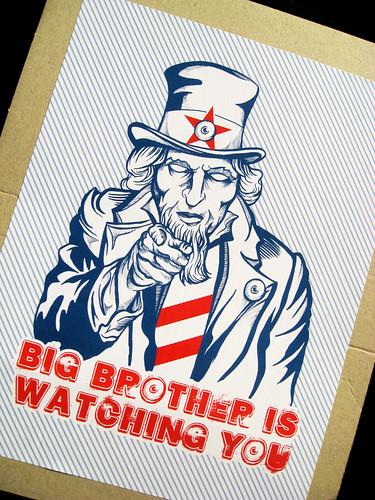 Big Brother on Cardboard