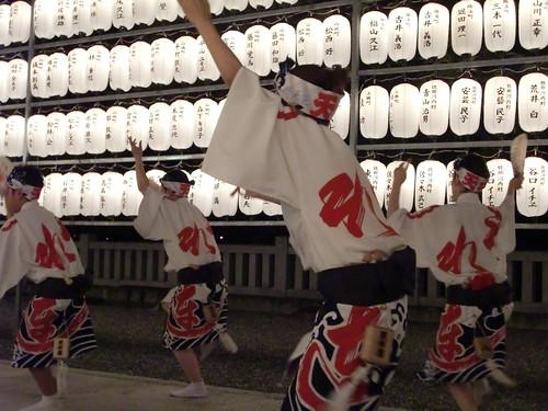 阿波踊り@護国神社