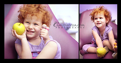 And the smart choice is. . . (claudiaveja) Tags: red apple girl smile smart fun photography kid child candy little small stock images redhead choice concept transylvania dentist choose cluj royaltyfree rightsmanaged claudiaveja rightmanaged claudiavejacom