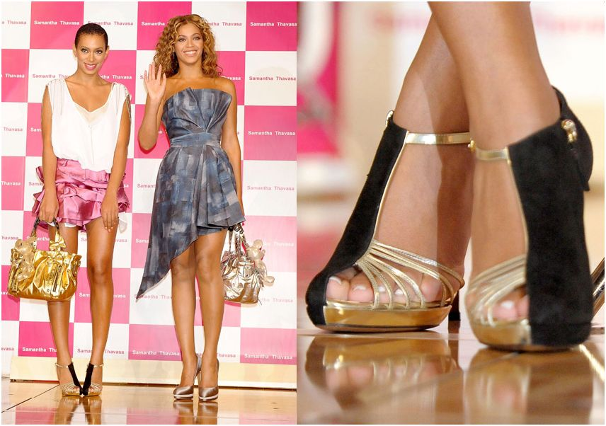 Solange Knowles Shoes - Samanth Thavasa