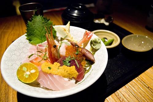 海鮮丼(招牌))