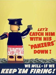 Propaganda (WR Bricks) Tags: pants lego little nazi hitler ww2 custom panzer propagando