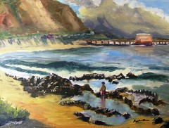 Tidepool Bounty (kanest) Tags: beach hawaii oahu pleinair windwardcoast littlemakapuu