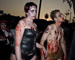 columbia and rocky zombies (CE Photogenetix) Tags: scary blood zombie walk rocky spooky horror rockyhorror corset canon40d christinaedwards