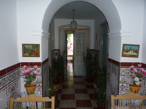 View through the house