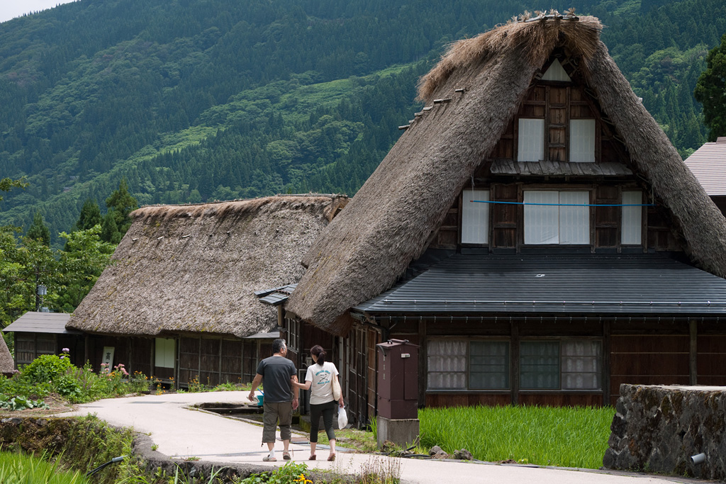 Gokayama Aikura historic village by DMC-G1 (4)