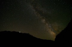 Milky Way over the Rogue (Joshua Bury) Tags: summer night oregon stars nikon jupiter milkyway rogueriver d300 widefield