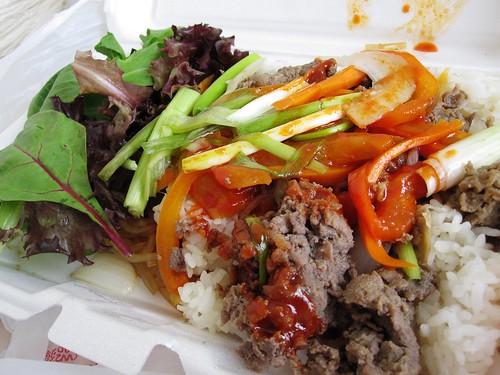 Bulgogi & Kimchi Cart