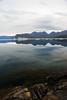 Transparency of a mirror (cortomaltese) Tags: mountains topv2222 clouds mirror rocks greenland transparency iceberg waterreflection qassiarsuk nordresermilik