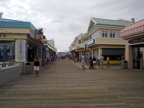 Jersey boardwalk – Roadtrip 2009