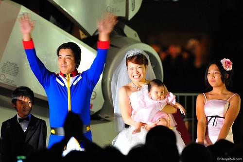 Gundam Wedding Odaiba (ガンダム結婚式)