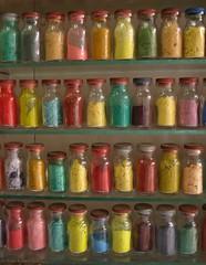 Colours & Spices @ the Souk (Rick & Bart) Tags: colours market northafrica morocco spices maroc marrakech souk medina marrakesh bazaar kruiden bazar oldcity marokko fas kleuren    otlar oudestad rickbart murrkush  rickvink redcitybotg