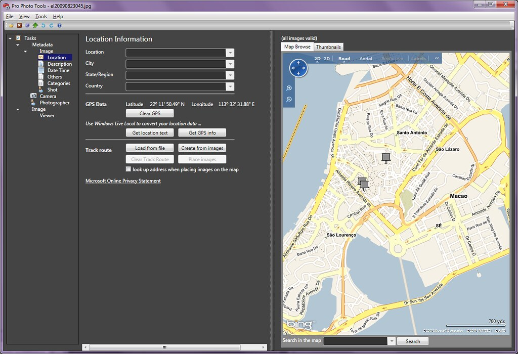 Geotagging pictures made even easier | Laurent Bugnion (GalaSoft)