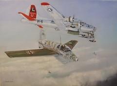 381stBG Ridgewell USAAF B17G and Me163 (Mike Land) Tags: wwii ww2 zwickau littleguy brandis b17g me163 sleepytimegal 8thaf 381stbg flakmagnet 535thbs losangelescitylimits ridgewellme163 442107018