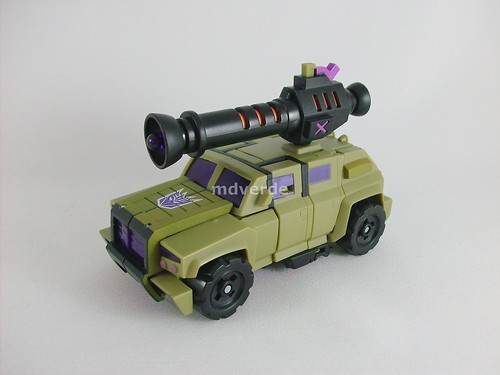 Transformers Swindle Animated Deluxe - modo alterno
