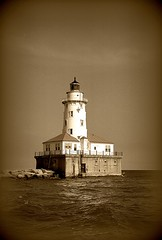 Chicago Light in Sepia