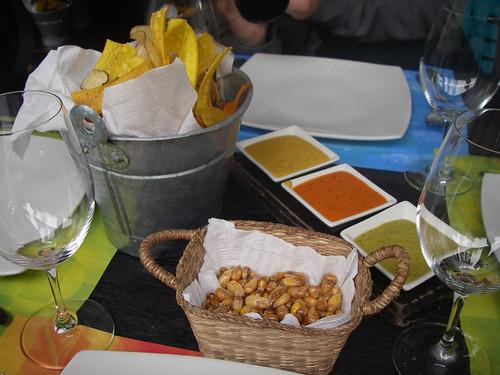 pre-lunch snacks at La Mar