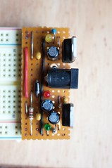 Breadboard Power Supply Close Up