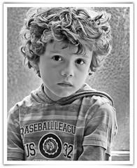 (...Keiths) Tags: boy portrait blackandwhite bw texture canon grey eyes availablelight gray windowlight naturallightkids 70200mmf28 draganize naturallightportrait flickrbw