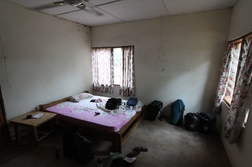My room in Tamale, Ghana.
