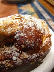 Almond croissant (ButteredUp) Tags: almonds croissant premieremoisson chocolatebreakfast butterissoooofreakinggood