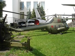 "Mil Mi-2 ""Hoplite"" (Skitmeister) Tags: 2005 summer museum airplane tank russia moscow aircraft aviation central jet armor rocket airforce flugzeug armour letadlo forces russie rusland ussr armed vliegtuig  sssr  udssr      skitmeister"