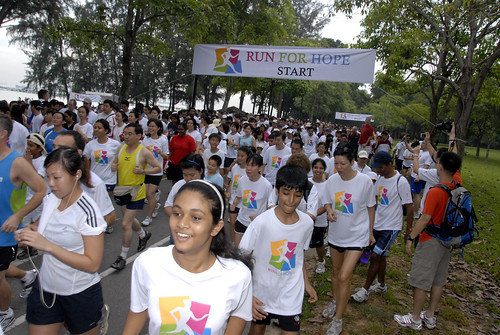 Run for Hope 2009 on Nov 22 – Today's Research, Tomorrow's Cure