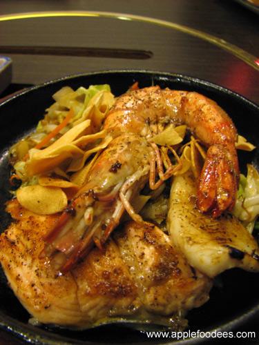 Teppan-Yaki Seafood