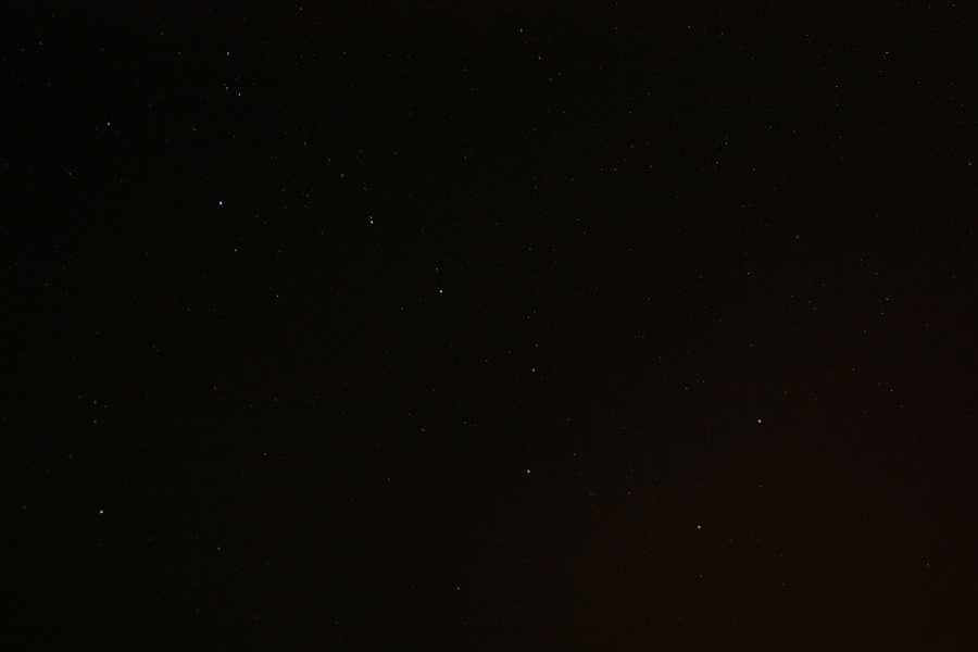 big dipper over ocean