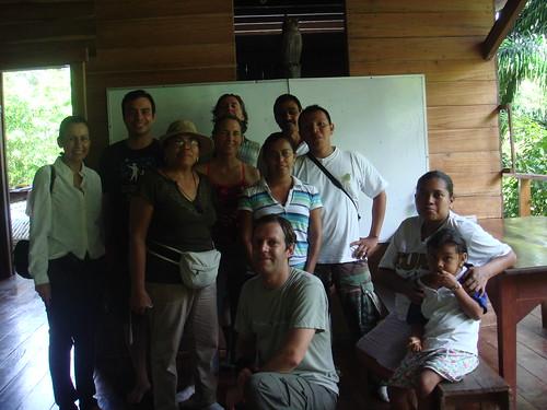 El grupo de la gira de CIENTEC