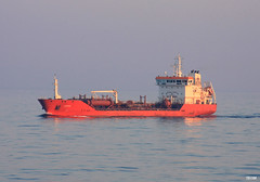 Travelling in the vastness... (teo58-) Tags: sea ship aegean cargo route greece acacia tanker ysplix