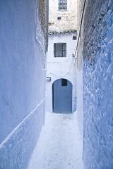 Calle azul (Patxi de Linaza) Tags: calle morocco medina chaouen chefchaouen marruecos chouen xauen
