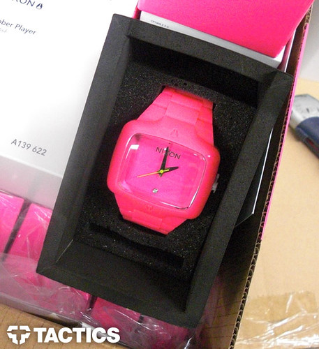 Nixon Rubber Player Fluro Pink Edition