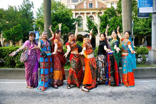 印度舞的舞者