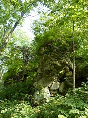 Rock tower (sfgamchick) Tags: statepark illinois savanna illinoisstatepark mississippipalisades mississippipalisadesstatepark