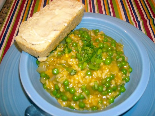 Rice and Pea Soup