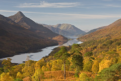 Autumn - Kinlochleven (David Kendal) Tags: autumn kinlochleven lochleven papofglencoe greymarestail