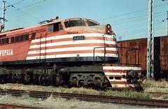 FPM273 Locomotiva Fepasa 6453 'Russa' (Fernando Picarelli Martins) Tags: russa generalelectric fepasa locomotiva desativada littlejoe ferrovias cpef jundiaísp companhiapaulistadeestradasdeferro locomotivaelétrica ferroviapaulistasa cp453 fepasa6453 classe2dd2 1951primeiraviagem