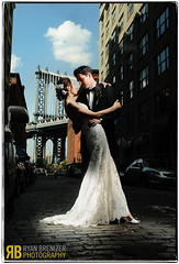Forever Yours (Ryan Brenizer) Tags: nyc newyorkcity wedding love brooklyn groom bride nikon flash cobblestones manhattanbridge gothamist d3 strobist 2470mmf28g kindiyaandthomas